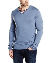 Jersey de pico celeste de Calvin Klein