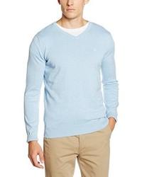 Jersey de pico celeste de Tom Tailor