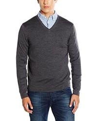 Jersey de pico en gris oscuro de Calvin Klein