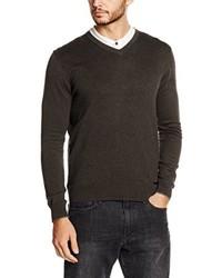 Jersey de pico en marrón oscuro de Eterna Mode GmbH