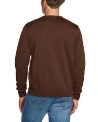 Jersey de pico en marrón oscuro de Maerz