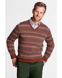 Jersey de pico en multicolor