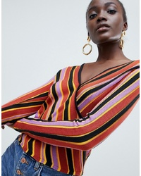 Jersey de pico en multicolor de ASOS DESIGN