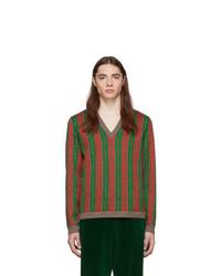 Jersey de pico en multicolor de Gucci