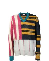 Jersey de pico en multicolor de Marni