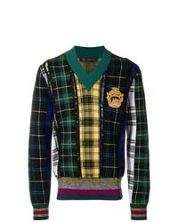 Jersey de pico en multicolor de Versace
