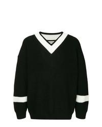 Jersey de pico en negro y blanco de Monkey Time