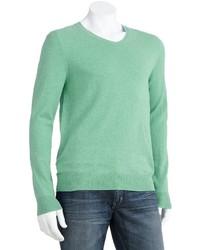 Jersey de pico en verde menta