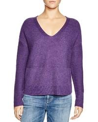 Jersey de pico en violeta
