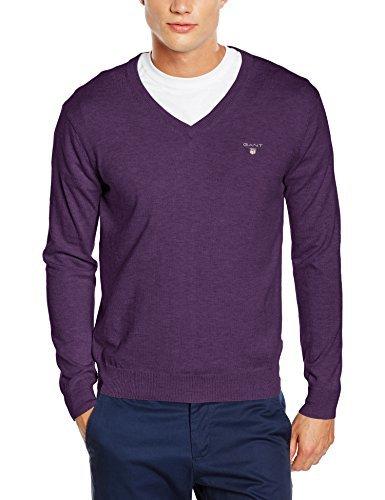 Jersey de pico en violeta de Gant
