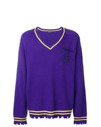 Jersey de pico en violeta de Riccardo Comi