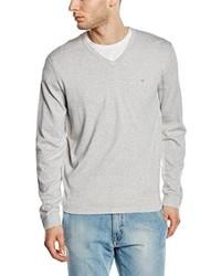 Jersey de pico gris de Calvin Klein