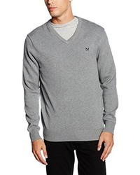 Jersey de pico gris de Crew Clothing