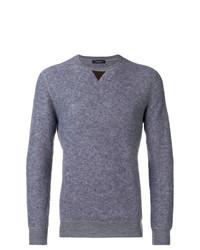 Jersey de pico gris de Ermenegildo Zegna