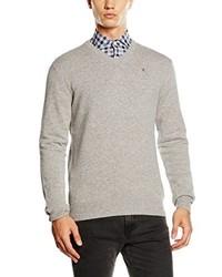 Jersey de pico gris de Hackett Clothing