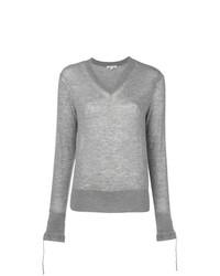 Jersey de pico gris de Helmut Lang