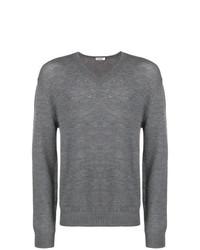 Jersey de pico gris de Jil Sander