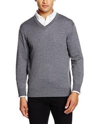 Jersey de pico gris de Thomas Pink
