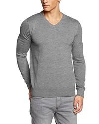 Jersey de pico gris de Tom Tailor