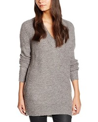 Jersey de pico gris de Vero Moda
