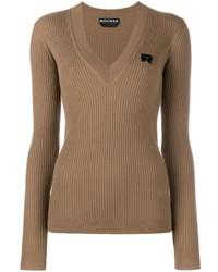 Jersey de pico marrón