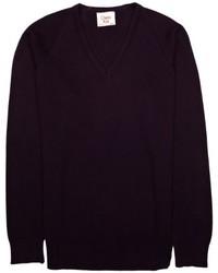Jersey de pico morado oscuro de Charles Kirk Coolflow