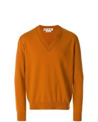 Jersey de pico naranja de Marni