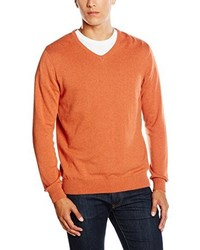Jersey de pico naranja de Paul James Knitwear