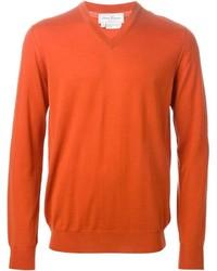 Jersey de pico naranja de Salvatore Ferragamo