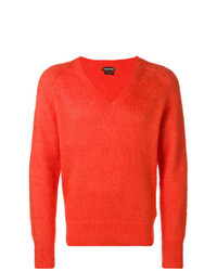 Jersey de pico naranja de Tom Ford