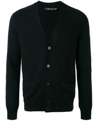 Jersey de pico negro de Alexander McQueen