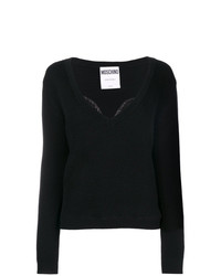 Jersey de pico negro de Moschino
