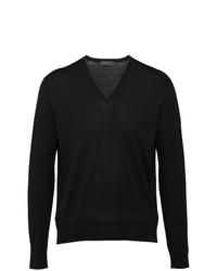 Jersey de pico negro de Prada