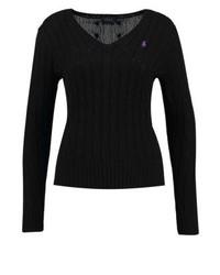 Jersey de pico negro de Ralph Lauren