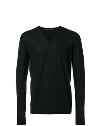 Jersey de pico negro de Versace