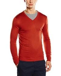 Jersey de pico rojo de Benetton