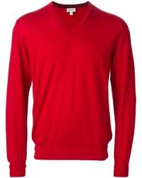 Jersey de pico rojo de Brioni
