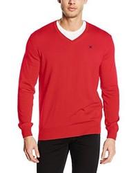 Jersey de pico rojo de Hackett London