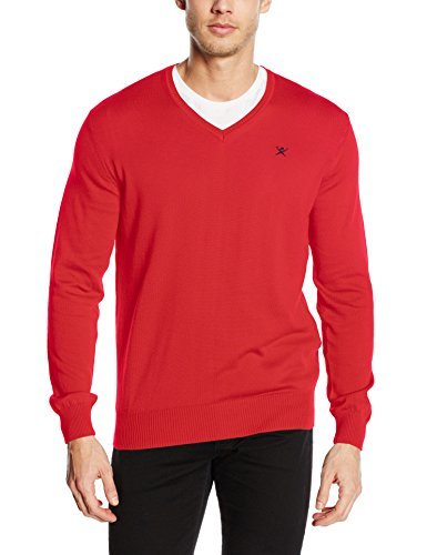 Jersey de pico rojo de Hackett London