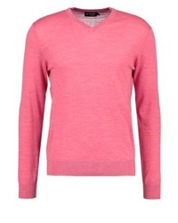 Jersey de pico rosa de Hackett London