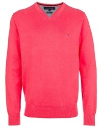Jersey de pico rosa de Tommy Hilfiger