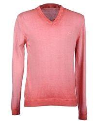 Jersey de pico rosado