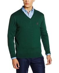 Jersey de pico verde oscuro de El Ganso