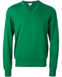 Jersey de pico verde de Brioni