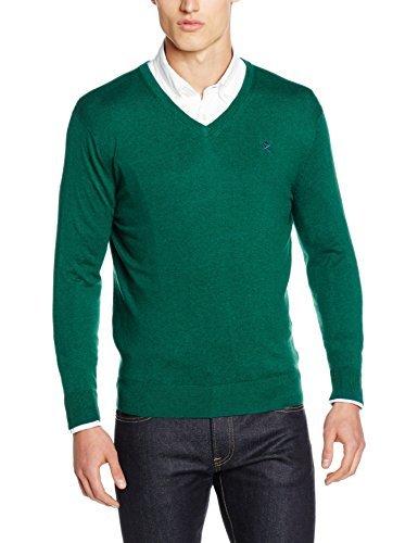 Jersey de pico verde de Hackett London