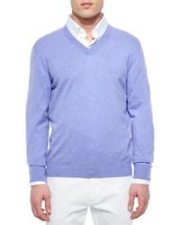 Jersey de pico violeta claro