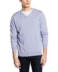 Jersey de pico violeta claro de Tom Tailor
