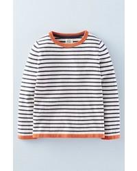 Jersey de rayas horizontales en blanco y negro