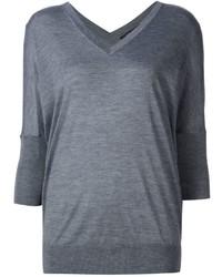 Jersey de seda gris de Derek Lam