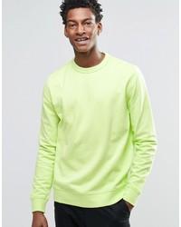 Jersey en amarillo verdoso de YMC